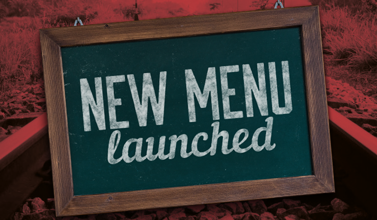 New Menu Launched