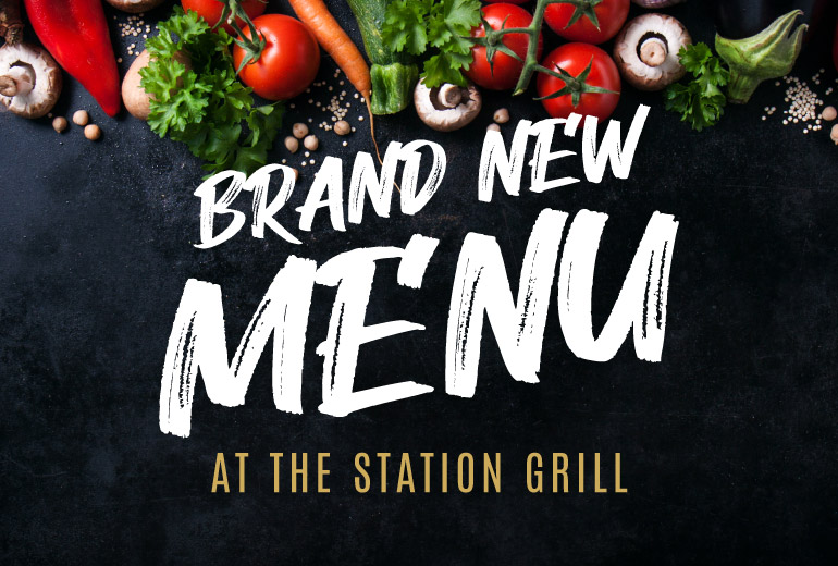 New Menu The Station Grill