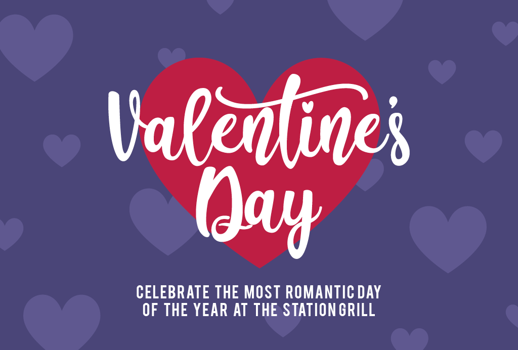 Valentine's day at The Station Grill