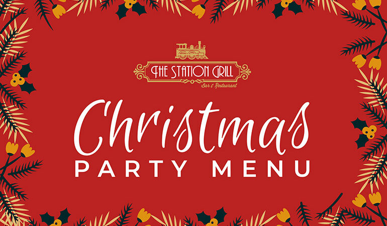 The Station Grill Christmas Menu