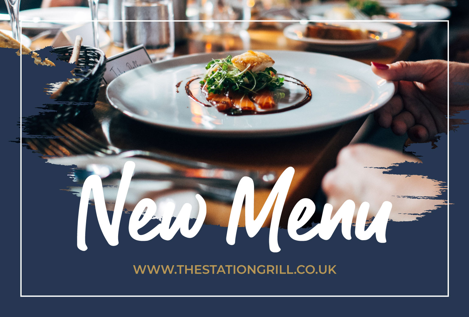 New Menu at The Station Grill